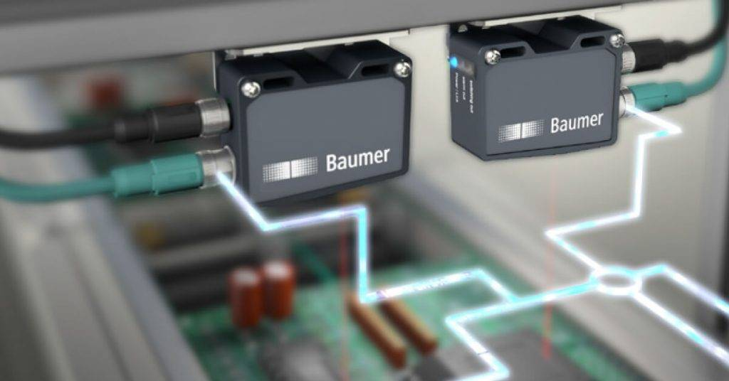 Laserski senzor udaljenosti Baumer OM70